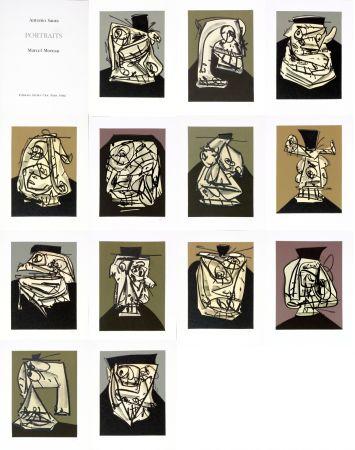 Non Tecnico Saura - Antonio Saura/Portrait/Marcel Moreau/Edtions Atelier Clot