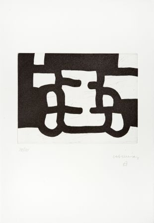 Incisione Chillida - Antzo Ill