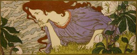 Litografia Grasset - Anxiété