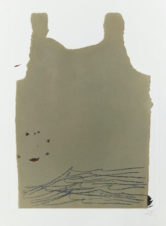 Incisione Tàpies - Aparicions 6