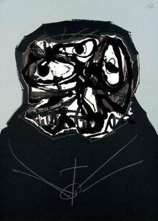 Serigrafia Saura - Aphorismen V