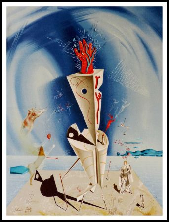 Litografia Dali - Appareil et Main
