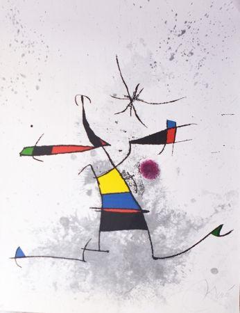 Incisione Miró - Appelant écartelé