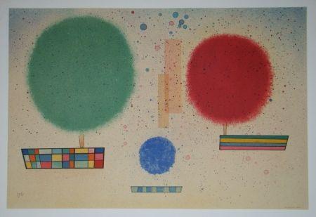Litografia Kandinsky - Aquarelle, 1932