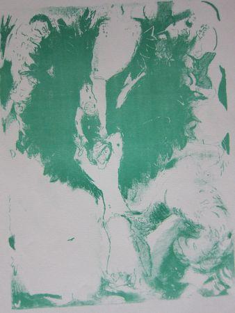 Litografia Chagall - Arabian nights