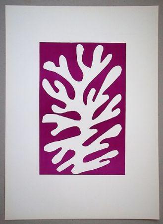 Litografia Matisse - Arbre de neige