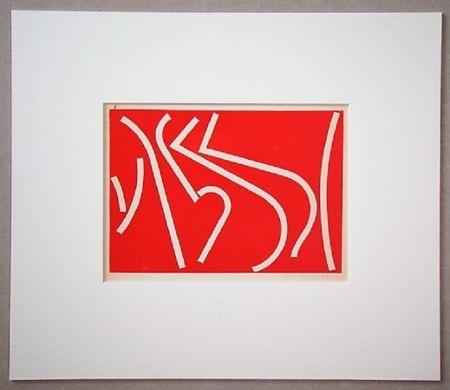 Serigrafia Colla - Arte non-figurativa 1953