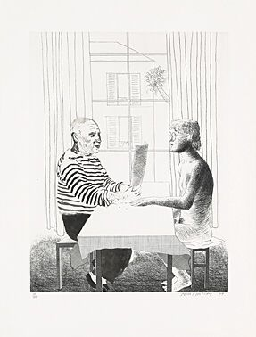 Acquaforte Hockney -