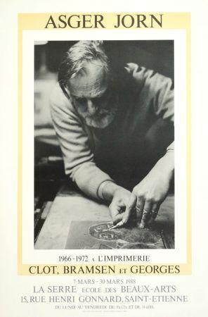Manifesti Alechinsky - AsgerJorn à l'imprimerie Clot, Bramsen & Georges
