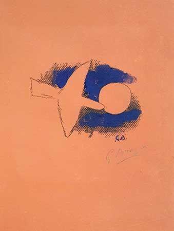 Litografia Braque - Astre Et Oiseau