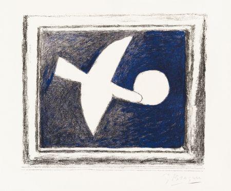 Litografia Braque - Astre Et Oiseau (Star And Bird) I, 1958-59
