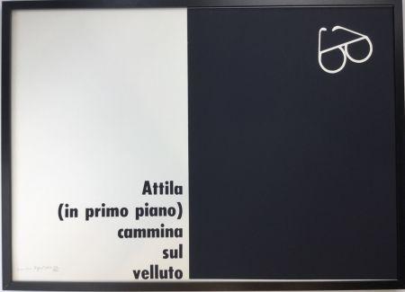 Serigrafia Isgro - Attila