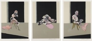 Incisione Bacon - August (triptych)