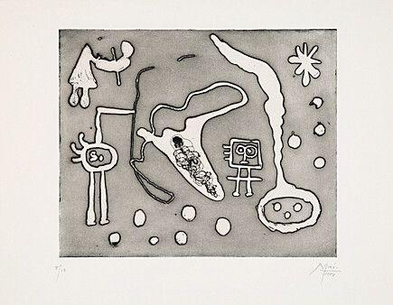 Acquaforte E Acquatinta Miró - Aus
