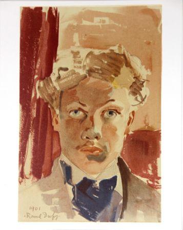 Litografia Dufy - Auto-Portrait