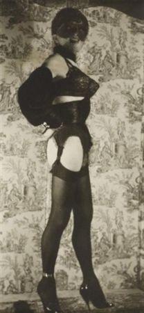 Fotografie Molinier - Autoportrait avec faux seins