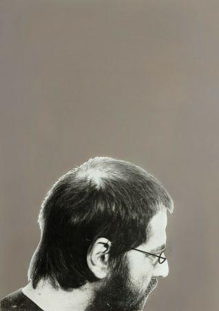 Serigrafia Pistoletto - Autoritratto, 1970