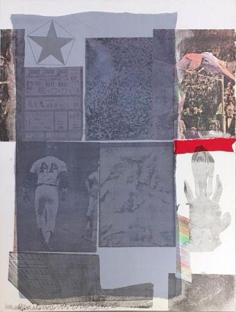 Litografia Rauschenberg - Back Out