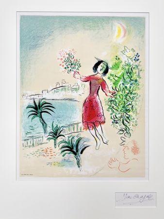 Litografia Chagall - Baie des Anges