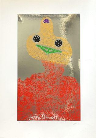 Incisione Baj - Baj chez Picasso 7