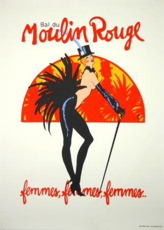 Serigrafia Gruau - Bal du Moulin Rouge