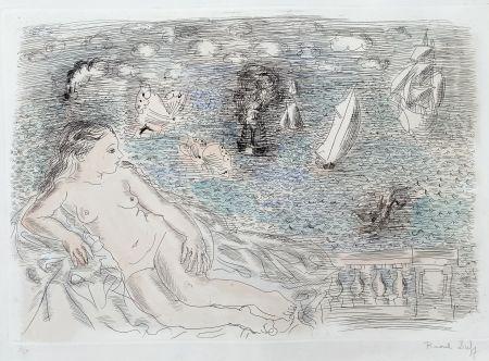 Multiplo Dufy - Balcon Sur La Mer (Baigneuse aux Papillons)