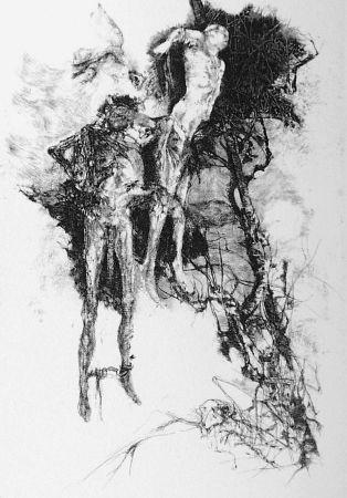 Acquaforte Vespignani - Ballata degli impiccati