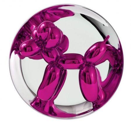Non Tecnico Koons - Balloon Dog magenta