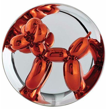Ceramica Koons - Balloon Dog (Orange)