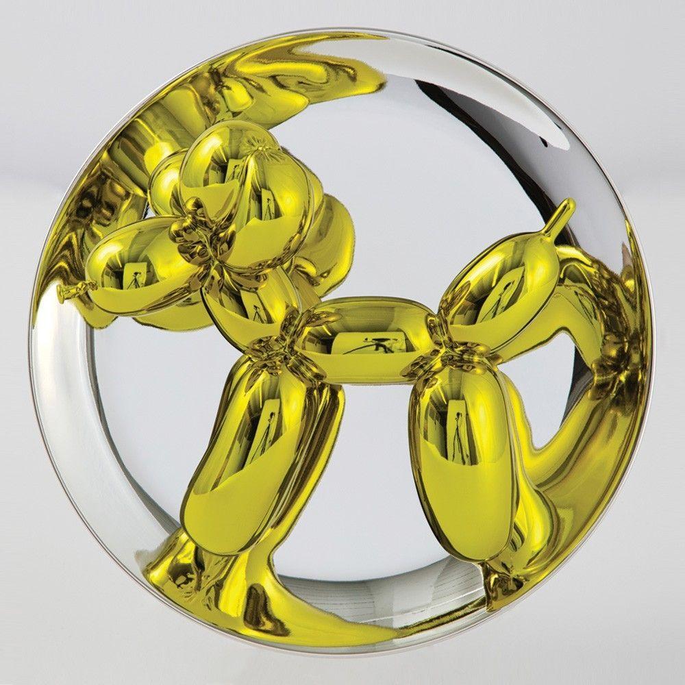 Non Tecnico Koons - Balloon Dog (Yellow)