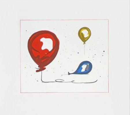 Litografia Oldenburg - Balloons