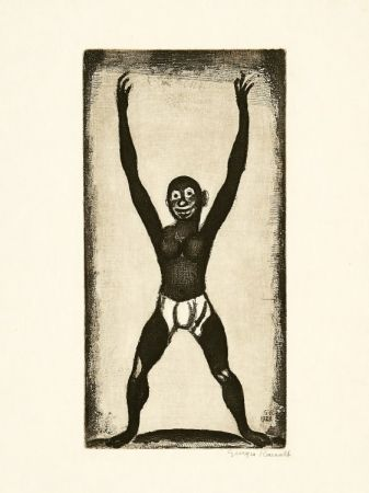 Incisione Rouault - Bamboula