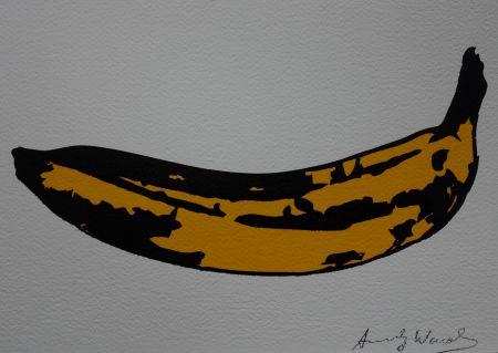 Serigrafia Warhol (After) - Banana