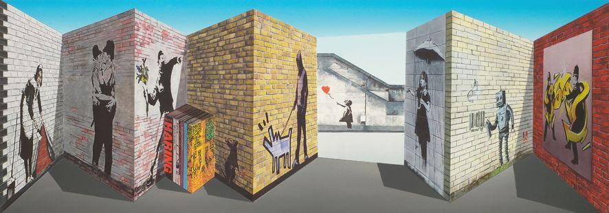 Multiplo Hughes - Banksy