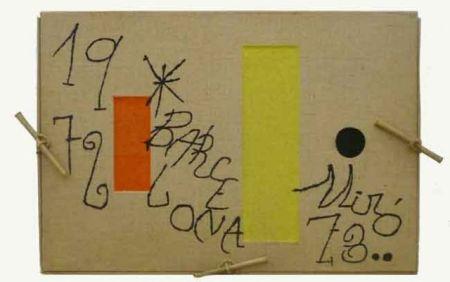 Incisione Miró - Barcelona 1972-1973