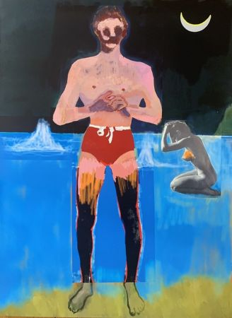 Multiplo Doig - Bather for Secession