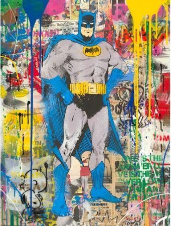 Serigrafia Mr Brainwash - Batman, 2019