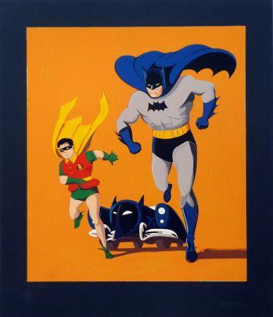 Serigrafia Ramos - Batman, Robin and Batmobile