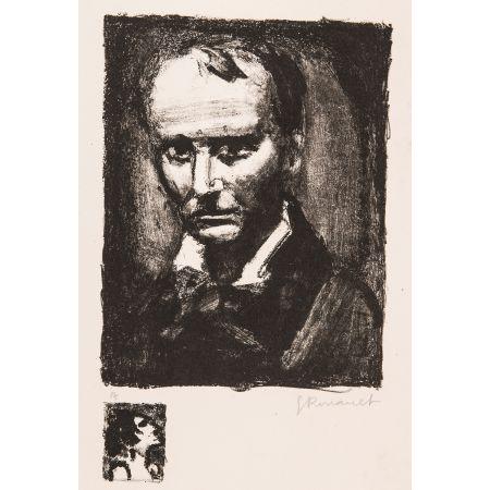 Litografia Rouault - Baudelaire