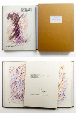Libro Illustrato Bazaine - BAZAINE AQUARELLES ET DESSINS. Derrière le miroir, n° 170. 1968. TIRAGE DE LUXE SIGNÉ.