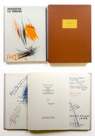 Libro Illustrato Bazaine - BAZAINE. Derrière le miroir, n° 197. 1972. TIRAGE DE LUXE SIGNÉ.