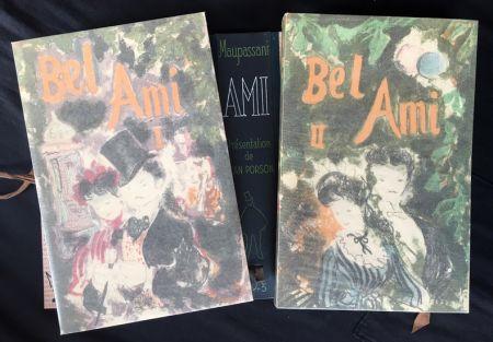Libro Illustrato Grau Sala - BEL-AMI. Lithographies originales de Grau-Sala