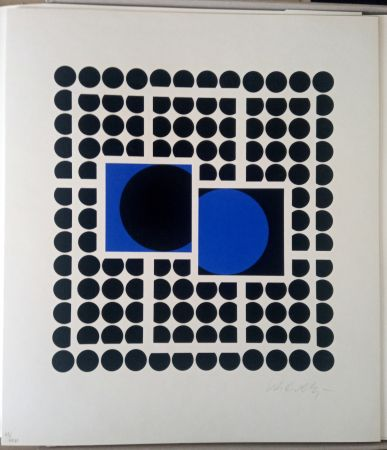 Serigrafia Vasarely - Bellatrix