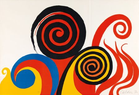 Litografia Calder - Berkeley