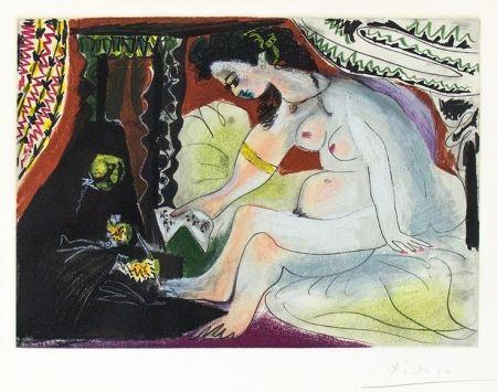 Acquatinta Picasso - Bethsabee