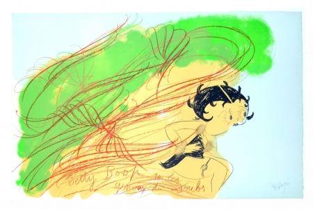 Litografia Messagier - Betty Boop