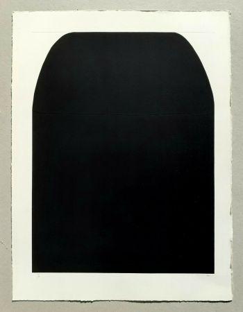 Serigrafia Burri - Bianchi e neri I (tav. 1-A)