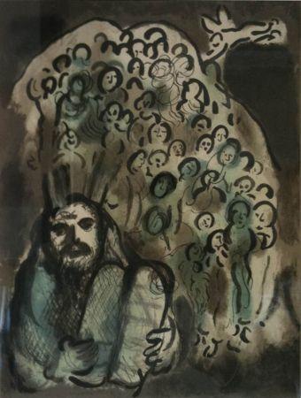 Litografia Chagall - Biblical Mesage