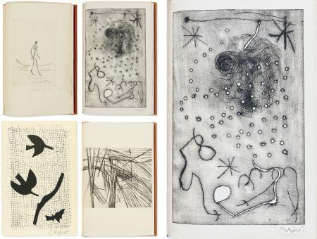 Libro Illustrato Miró - Bibliographie des œuvres de René Char (PAB 1964) Gravures signées de Giacometti, Miro, Braque, Da Silva, etc.