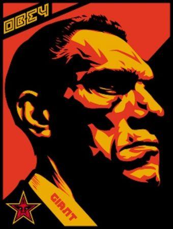Serigrafia Fairey - Big Brother Profile
